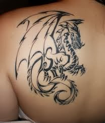 Girl Dragon Tattoos 12