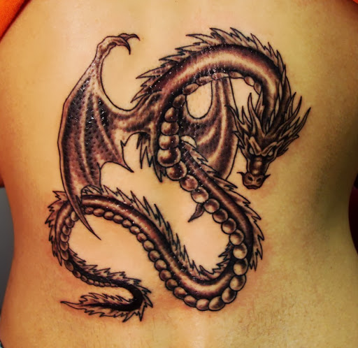 Girl Dragon Tattoos 24