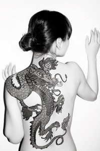 Girl Dragon Tattoos 3