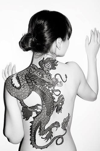 Girl Dragon Tattoos 3