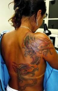 Girl Dragon Tattoos 45