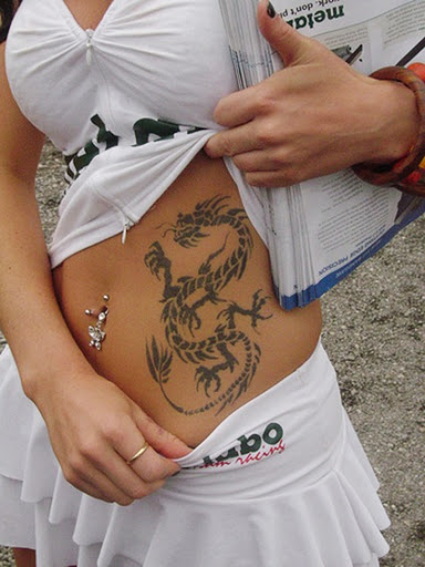 Girl Dragon Tattoos 48
