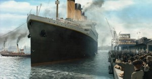 Titanic 3D Movie Ship